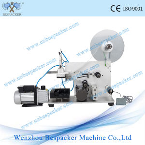 Semi Automatic Labeling Machine for Plastic Bottles pictures & photos