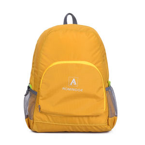 High Quality Custom Design Canvas Backpack Custom Cheap School Backpack pictures & photos