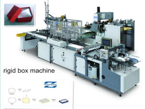 Cardboard Paper Box Making Machine (ZK-660A) Manufacturer pictures & photos