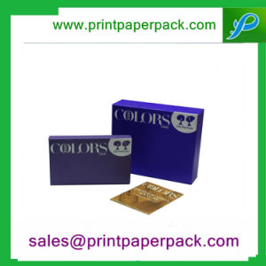 Bespoke Cosmetic Paper Box with Your Logo and Design pictures & photos