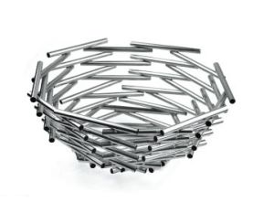 Stainless Steel Nest Design Fruit Basket for Hotel Buffet (11311) pictures & photos