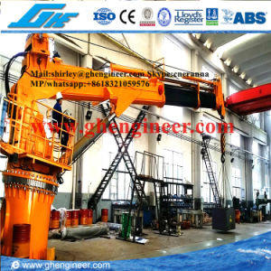 Telescopic Boom Marine Ship Deck Crane 7t@10m pictures & photos