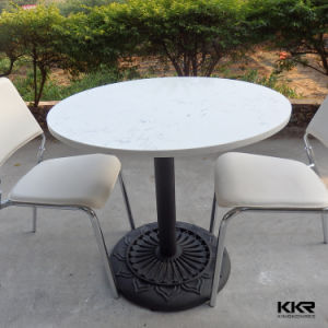 Modern Design Restaurant Round Marble Top Dining Table pictures & photos