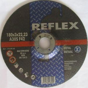 Abrasive Cutting Disc Dia. 180mm Cut Metal