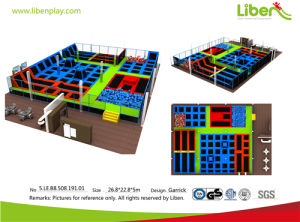 Multi-Function Commercial Bungee Trampoline Arena pictures & photos