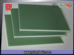 Fr4 Epoxy G10 Glass Fiber Laminated Sheet Green Color pictures & photos
