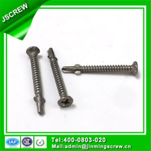 Nickel Plated Philips Recess Self Tapping Thread Stainless Steel Self Drilling Screw pictures & photos