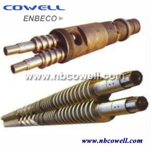 Conical Twin Screw Barrel for PVC Processing pictures & photos