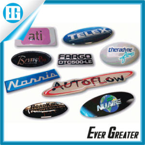 Customized 3D Stickers for Car, Epoxy Resin Dome Stickers Labels with Low Price Epoxy Stickers pictures & photos
