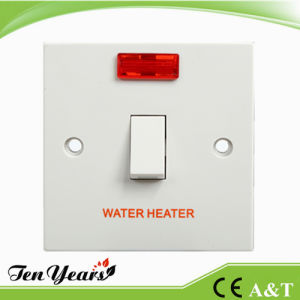 "CE Apporoved 20A 250V D. P. Switch ""N""with Indicator for Water Heater Use pictures & photos"