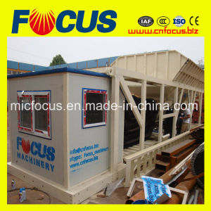 Yhzs35 35m3/H Concrete Batching Plant, Mobile Concrete Mixing Plant-Mini Compact-Structure/Portable/Pulling/Trailing pictures & photos