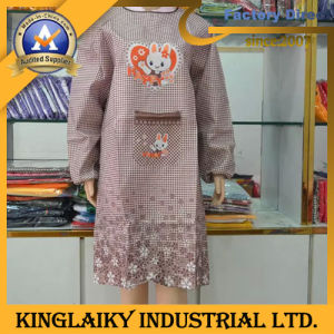 Long Sleeve Apron for Promotion (NPVC-1006) pictures & photos