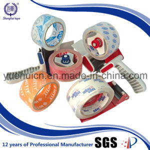 OEM Manufacturer 6 Rolls Shrink Pack BOPP Crystal Tape pictures & photos