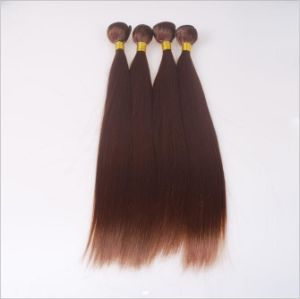 Brown Fiber Synthetic Hair Shade Straight Hair Chemical Fiber Mechanism