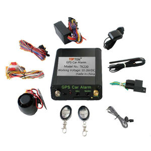Fleet Management GPS Car Alarm with One-Key Button Starter TK220-EZ pictures & photos