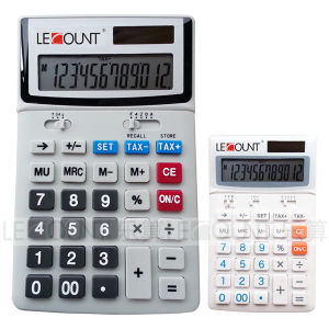 12 Digits Dual Power Desktop Calculator with English Tax Function (LC227T-EN) pictures & photos