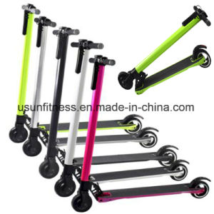 Aluminum Alloy Folding Electryc Scooter with LCD Display pictures & photos