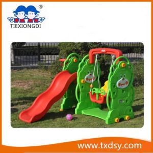 fashion Play House Children Plastic Slides for Sale pictures & photos