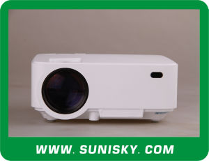 2016 Smart WiFi Bluetooth LCD Projectors for Home Theatre (SMP8200A) pictures & photos