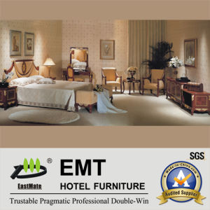 Graceful Style Hotel Bedroom Wooden Furniture Set (EMT-D0651) pictures & photos
