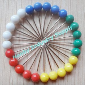 Wholesale Colorful Big Round Ball Head Map Pin