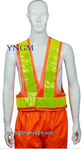 Reflective Workwear, Reflective Jacket, Reflective Vest with High Visibility Tape pictures & photos