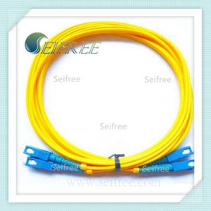 Sc Optical Connector Duplex Fiber Optic Patchcord pictures & photos