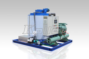 10000kg Dry Flake Ice Maker for Fresh Keeping (KP100) pictures & photos