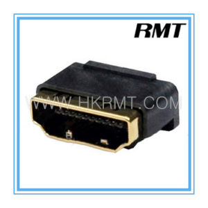 HDMI 19p Atype Female Without PCB Board Connector (RMT-160325-021) pictures & photos