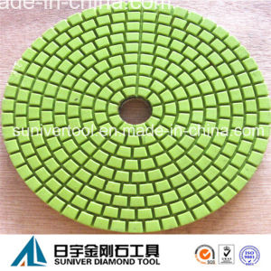 Green Color Economy Diamond Polishing Pad Wet Use for Granite pictures & photos