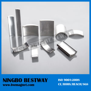 N40uh High Grade Arc Neodymium Magnet pictures & photos