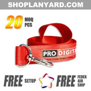 Popular Nylon Custom Logo Lanyard No Minimum Order