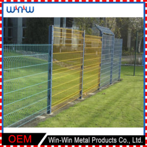 Fence Gate Custom Welded Wire Metal Wrought Iron Dog Fence for Cage pictures & photos