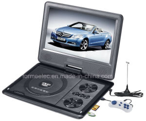 9 Inch LCD Portable DVD Player with TV ISDB-T pictures & photos