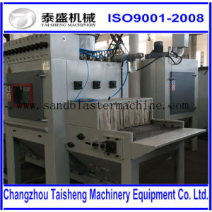 Automatic belt sandblasting machinery/Conveyer sandblasting machine