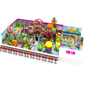 Candy House Indoor Playground for Children pictures & photos