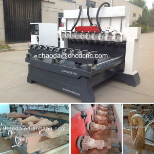 4axis Wood Carving Machine, Wood Engraving Machine pictures & photos
