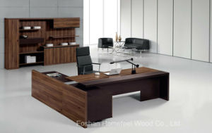Modern Elegant Wooden Office Executive Manager Table (HF-TWB105) pictures & photos