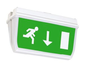 IP65 LED Bulkhead/Exit Sign pictures & photos