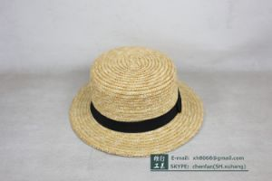 Fedora Straw Hat for Kids (OT-XH8017) pictures & photos