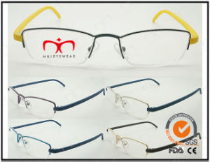 Hot Selling Colorful Tr90 Temples Metal Optical Frames (WRM503029) pictures & photos