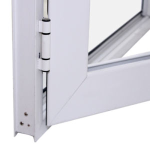 High Quality White Powder Coated Thermal Break Aluminium Casement Door K06033 pictures & photos