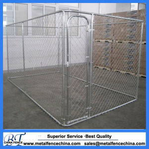 Large Galvanized Wire Chain Link Dog Kennel Panels pictures & photos