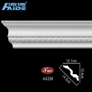 Polyurethane Cornices PU Crown Moulding (AA336) pictures & photos