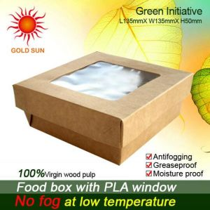 Cake Box Food Box with Antifogging Window pictures & photos