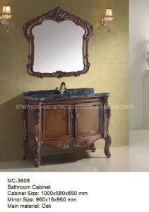 Bathroom Furniture Bathroom Cabinet with Wash Basin (MC-3608) pictures & photos