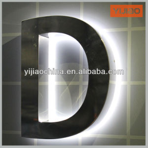 3D LED Steel Build up Back-Lit Channel Sign Letter pictures & photos