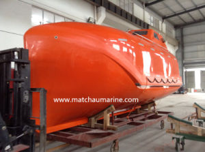8.0m Totally Enclosed Freefall Lifeboat for Sale pictures & photos