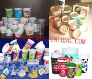 Six Colors Plastic Coffee Cup Printer pictures & photos