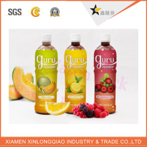 Plastic Paper Adhesive Colorful Fruit Juice Label Printing Bottle Sticker pictures & photos